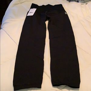 NWT Free People Movement leggings size M/L black